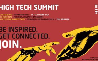Pharma Score deltager på High Tech Summit på DTU den 10. – 11. oktober 2018
