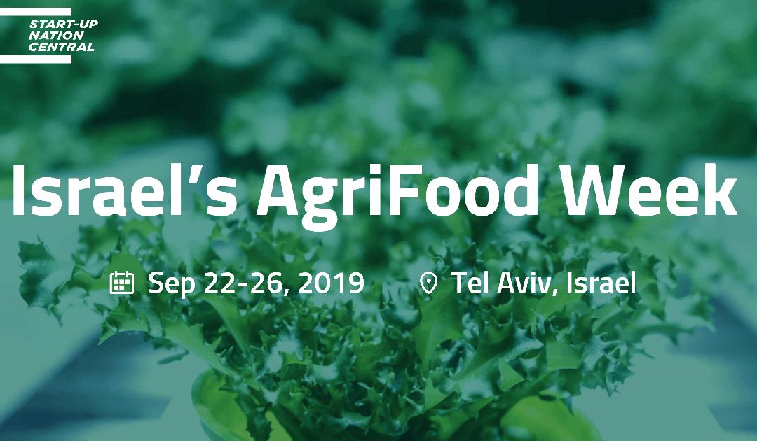 AgriFood Week 2019 i Tel Aviv, Israel