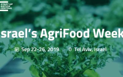 AgriFood Week 2019 in Tel Aviv, Israel